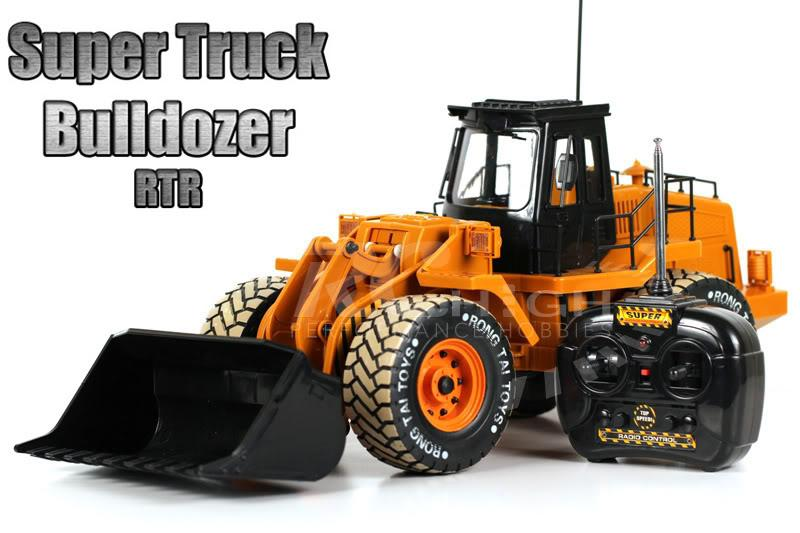 Huge RC Construction Truck Bulldozer