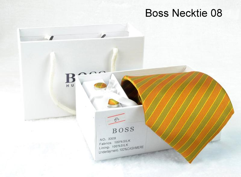 NEW Hugo Boss Necktie set - 8, Material : Satin