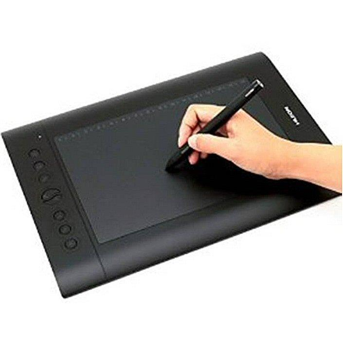 Huion H610 Pro Graphics Drawing Pen Tablet (Black)