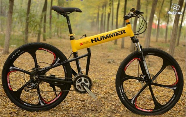 Hummer Mount Military Technology Folding Bike
