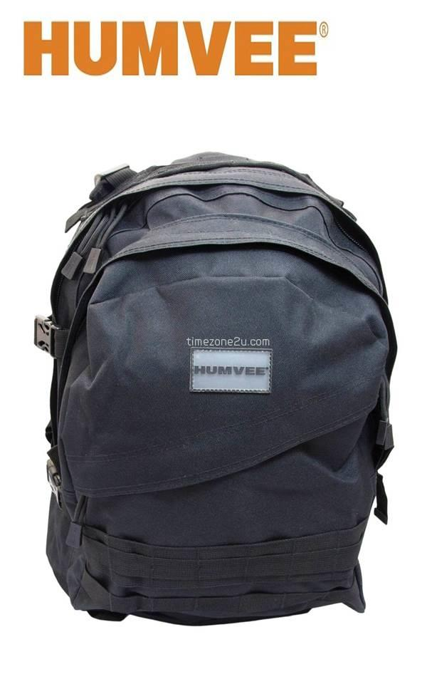 HUMVEE MILITARY Double Reinforced Back Pack With Compression Handles