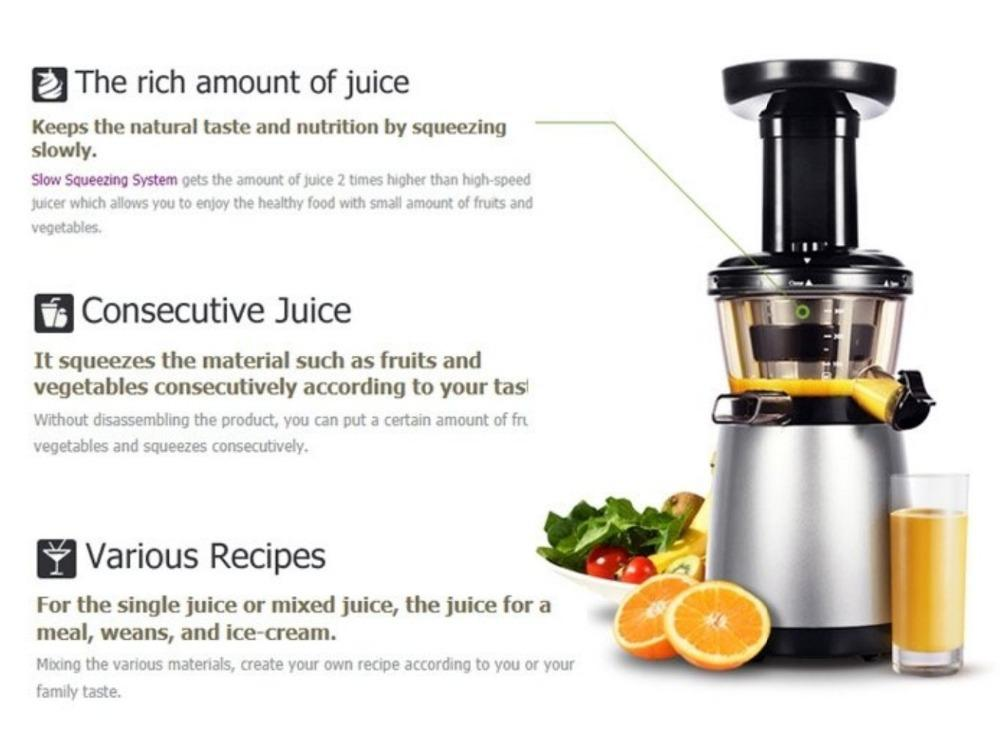 Slow Juicer In Korea : Hurom HU-500DG Slow Juicer Ex (end 10/6/2016 4:15 PM - MYT )