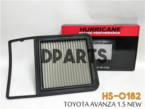HURRICANE Stainless Steel Air Filter for TOYOTA Avanza 1.5L NEW #OFFER