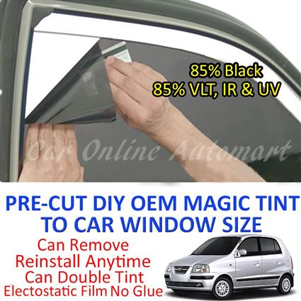 Hyundai Atos Magic Tinted Solar Window ( 4 Windows ) 85% Black