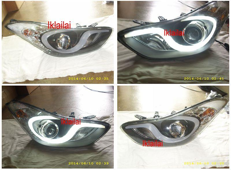 HYUNDAI ELANTRA PROJECTOR HEAD LAMP Starline Cool Bar