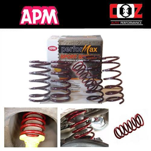 Hyundai Getz 2007 APM Performax Lowered Sport Coil Spring Suspens