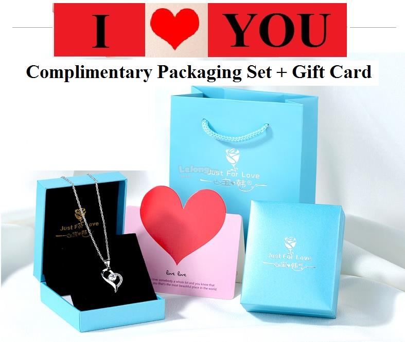 I-Love-You Pendant Necklace for her