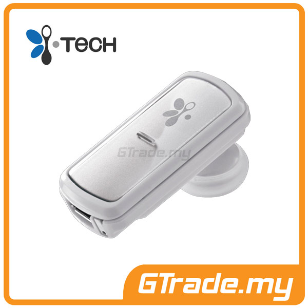 I-TECH My Voice 312 Bluetooth Headset | Pair 2x 1 Touch - White