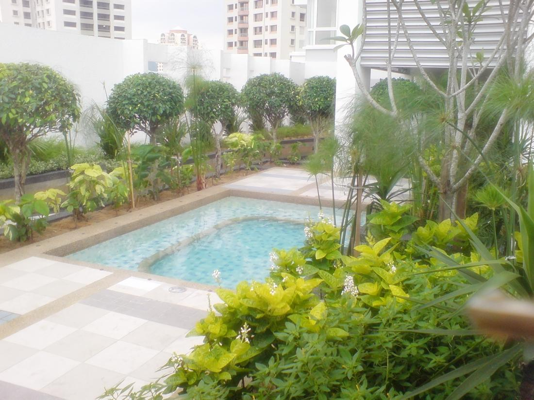 I-Zen Kiara 1 Condo for rent, Mont Kiara, Pool View, 2 Car Parks, KL