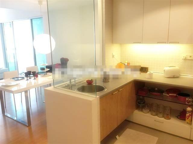 I-Zen Kiara 1 Condo for rent, Pool View, Fully Fur
