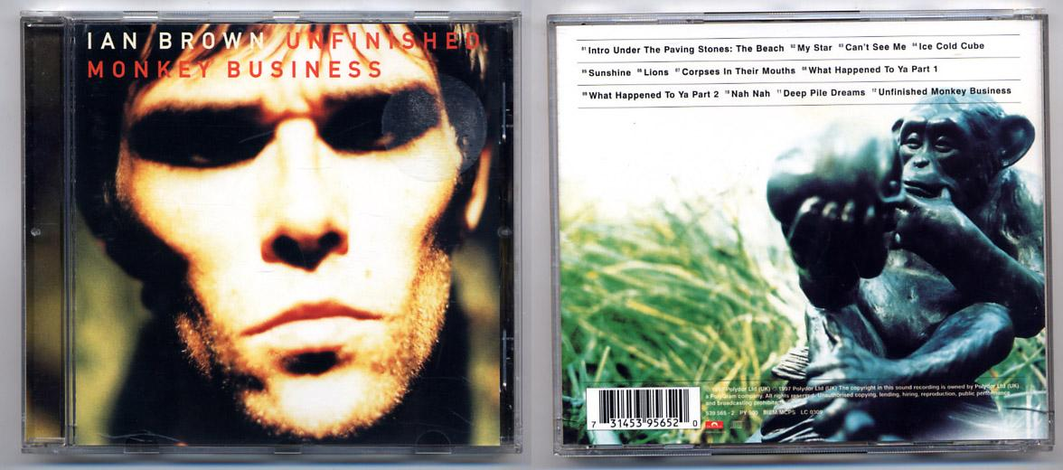 Ian Brown 'Unfinished Monkey Business' CD