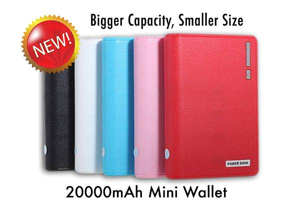 iBattery New Mini Wallet 20000mAh Power bank 20000 mAh