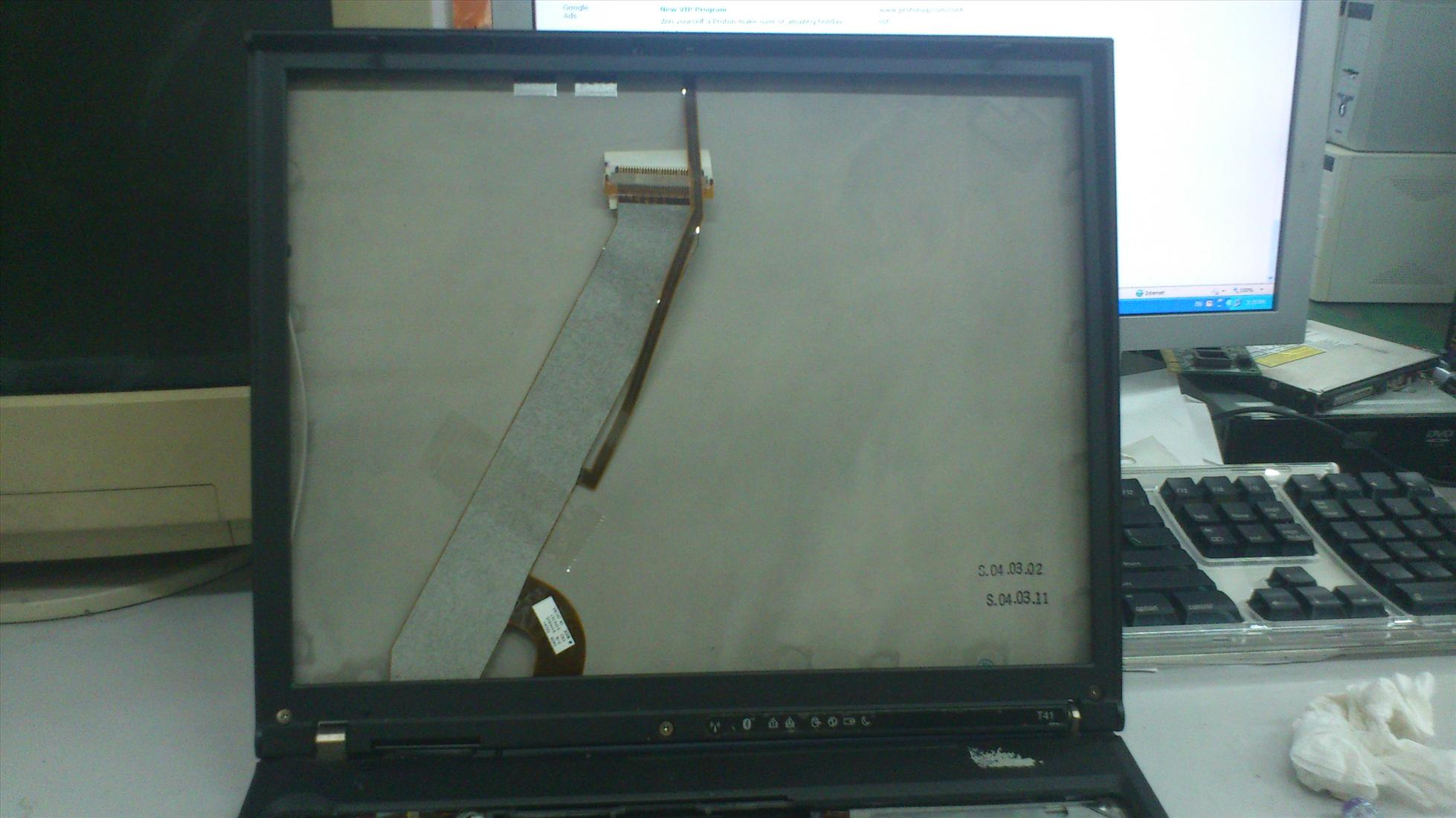 IBM ThinkPad T41 Notebook LCD Cover 231111