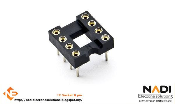 IC Socket 8 pin