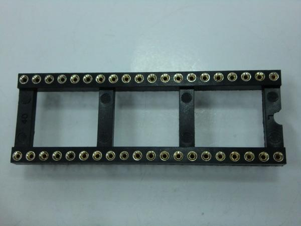 IC SOCKET TURN PIN  40 PIN