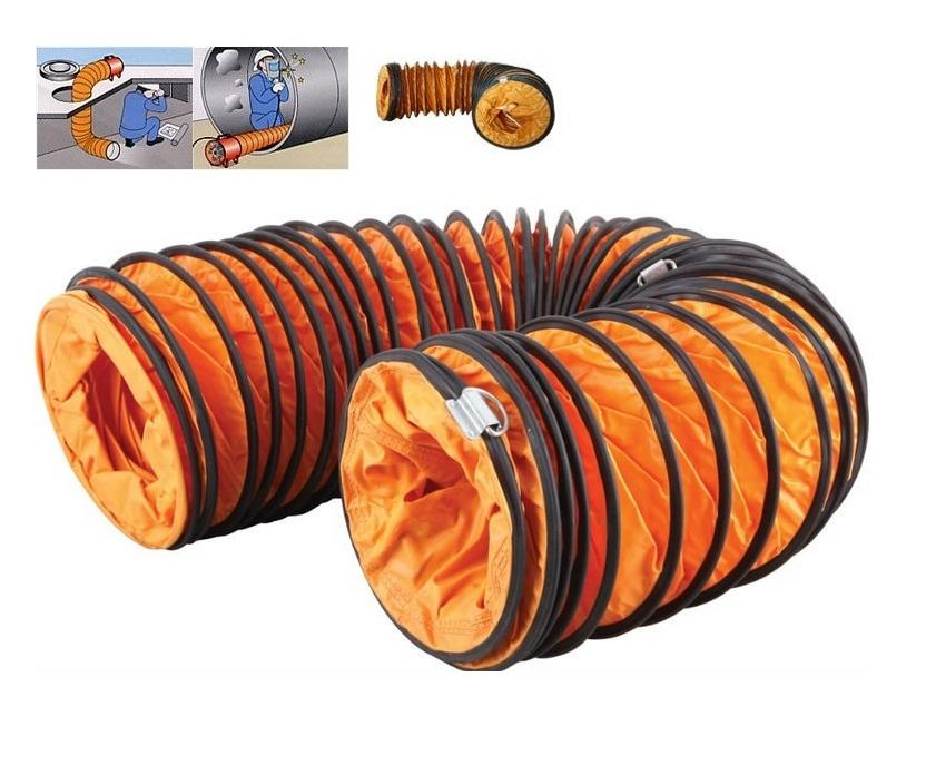 6 In Flexible Duct Hose : Icasu quot meter air ventilator fl end pm
