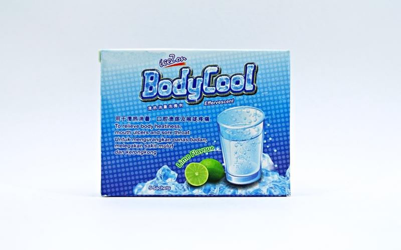 Icezone BodyCool Lime Flavor 5packs X 2 packs (Reduce Body Heatiness)