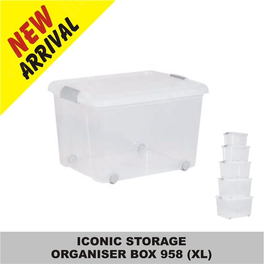 ICONIC STORAGE ORGANISER BOX 958 (XL)