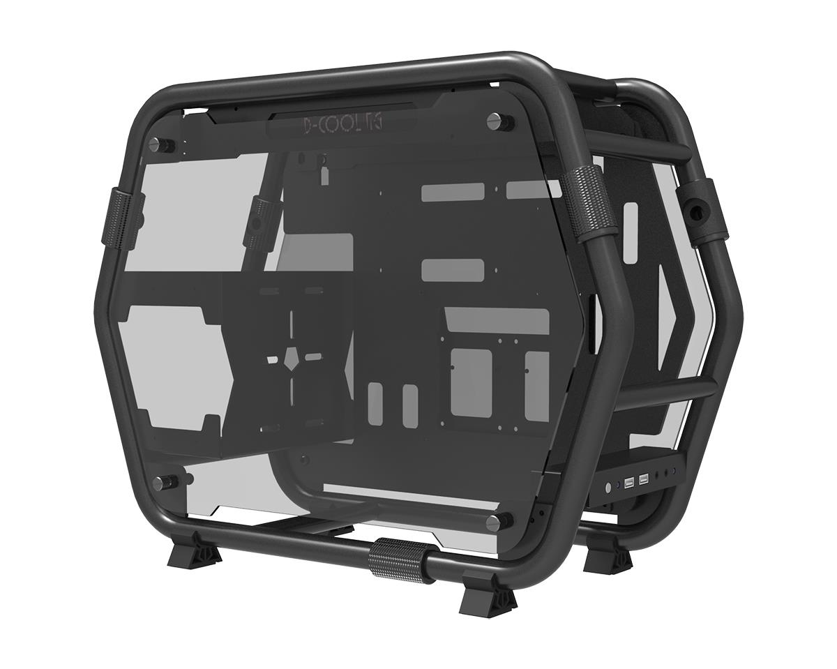 ID-COOLING STREAM 1 OPEN AIR ALUMINIUM CHASSIS