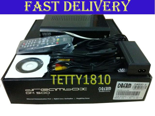 ID4 DREAMBOX DM500S BLACK NEW MODEL+6MONTH FREE CHANNEL