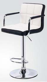 IDECO PU Leather Bar Chair with Handle