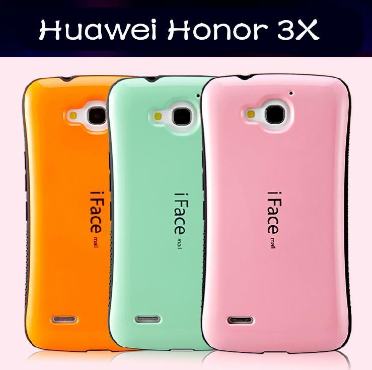 iface mall Huawei Honor 3X G750 ShakeProof Back Case Cover Casing