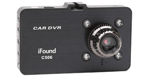 iFOUND C506 DVR Driving Video Recorder 1080px Full HD Motion Detector