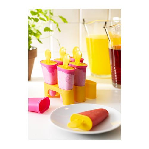 IKEA CHOSIGT Ice Lolly Maker BPA Free Assorted Colors