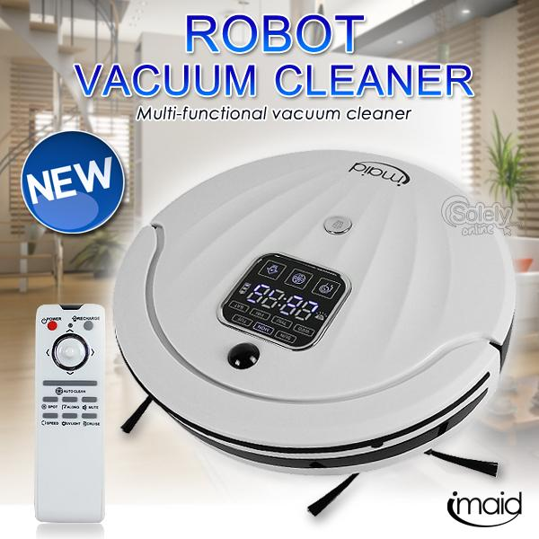 iMaid Automatic Recharge Robot Vacuum Cleaner Wireless Remote Control