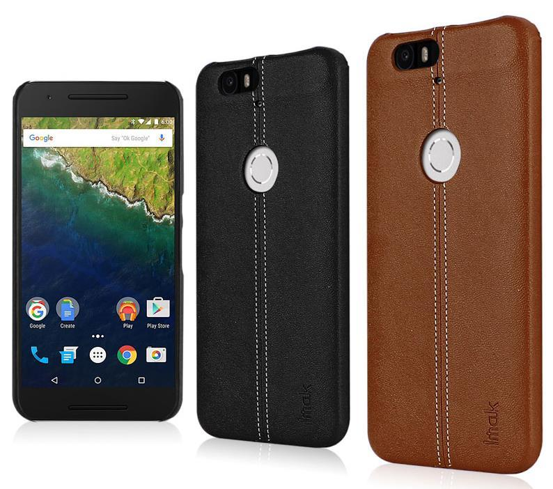 Imak Huawei Nexus 6P Leather Back Case Cover Casing + Free Gifts