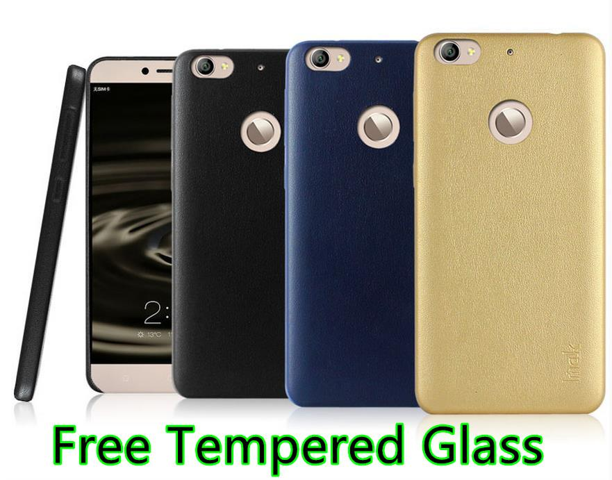 Imak LeTV Le 1S X500 Leather Back Case Cover Casing + Tempered Glass