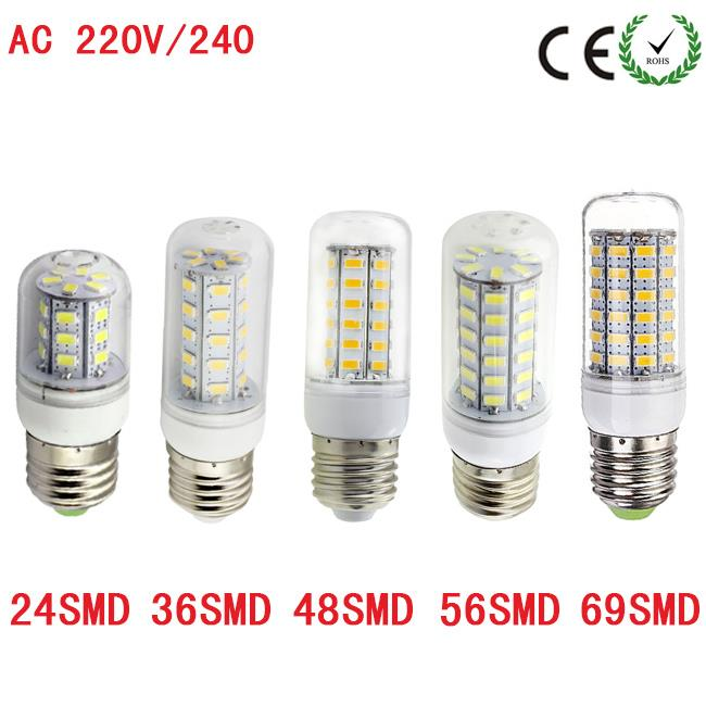 (Import) YNL LED Lamp E27 220V SMD5730 Light Corn Bulb