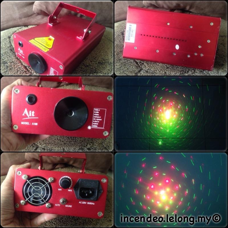 **incendeo** - Ait Twinkling Firefly Laser Light Show System A168