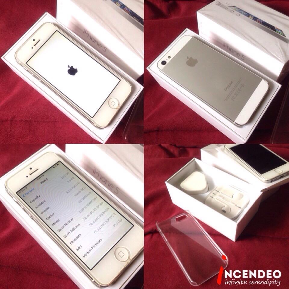 **incendeo** - APPLE iPhone 5 32GB White