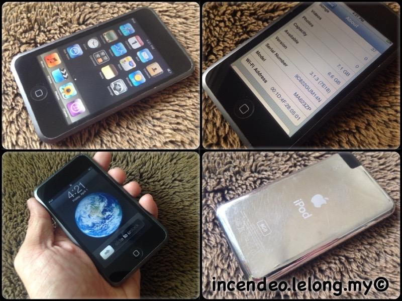 **incendeo** - APPLE iPod Touch 8GB 1st Generation