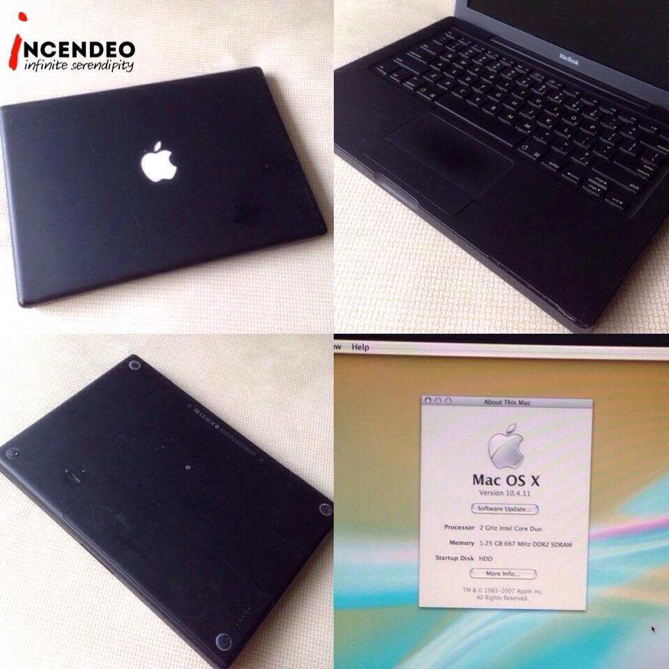 "**incendeo** - APPLE Macbook 13"" 2Ghz Black"
