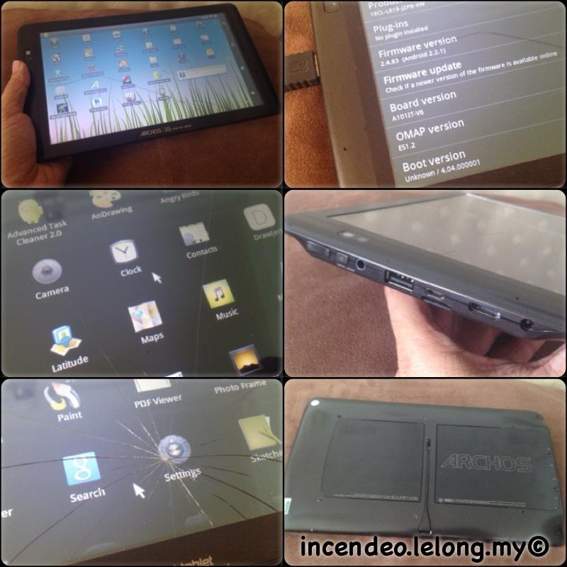 **incendeo** - ARCHOS 10.1 Internet Tablet