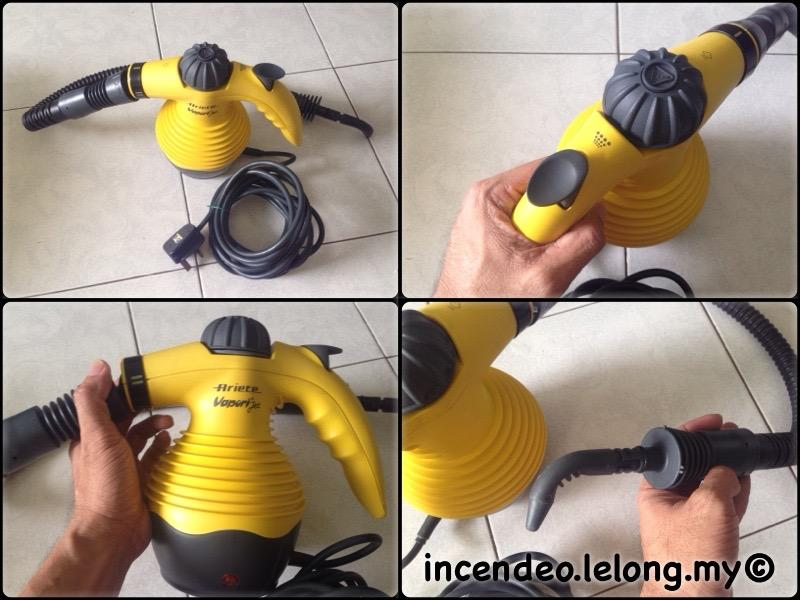 **incendeo** - ARIETE Vapori Jet Steam Cleaner