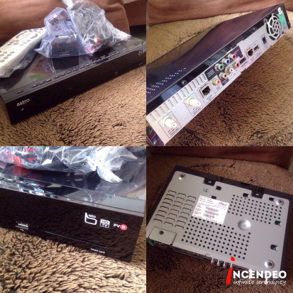 **incendeo** - astro byond HD PVR Decoder with 500GB HDD