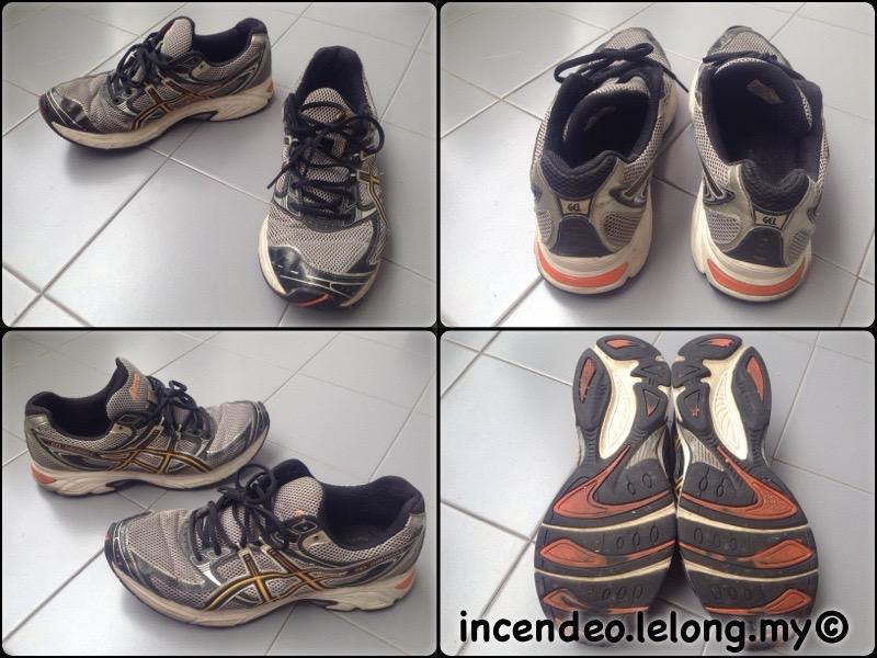 **incendeo** - Authentic ASICS GEL-OBERON Running Shoes T120N