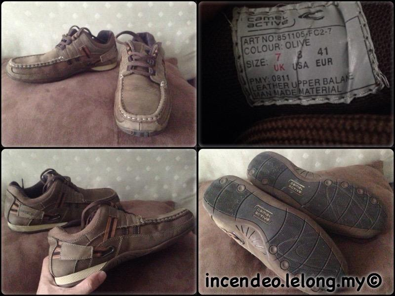 **incendeo** - Authentic CAMEL Active Brown Leather Shoe
