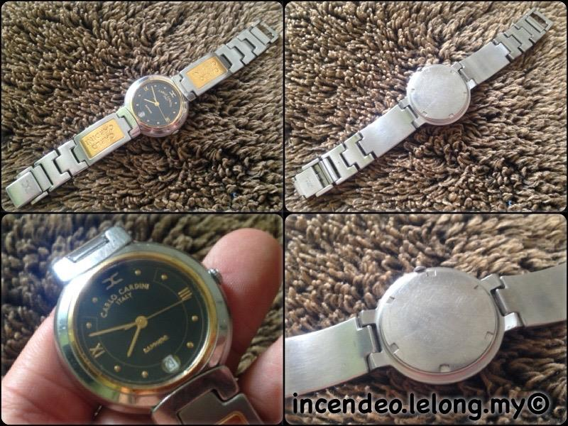 **incendeo** - Authentic CARLO CARDINI Italy Stainless Steel Watch
