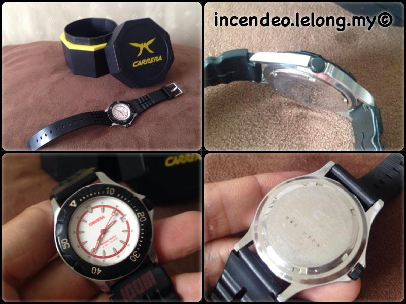 **Incendeo** - Authentic CARRERA Stainless Steel Sport Watch