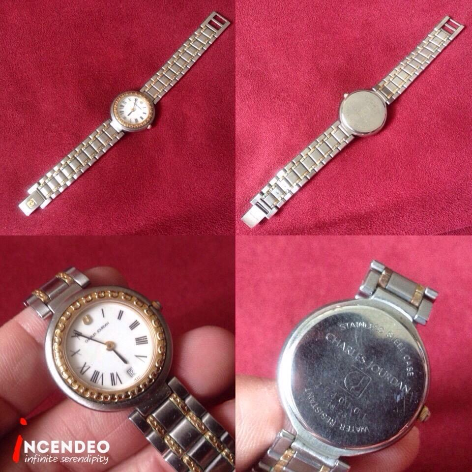 **incendeo** - Authentic CHARLES JOURDAN Quartz Watch for Ladies