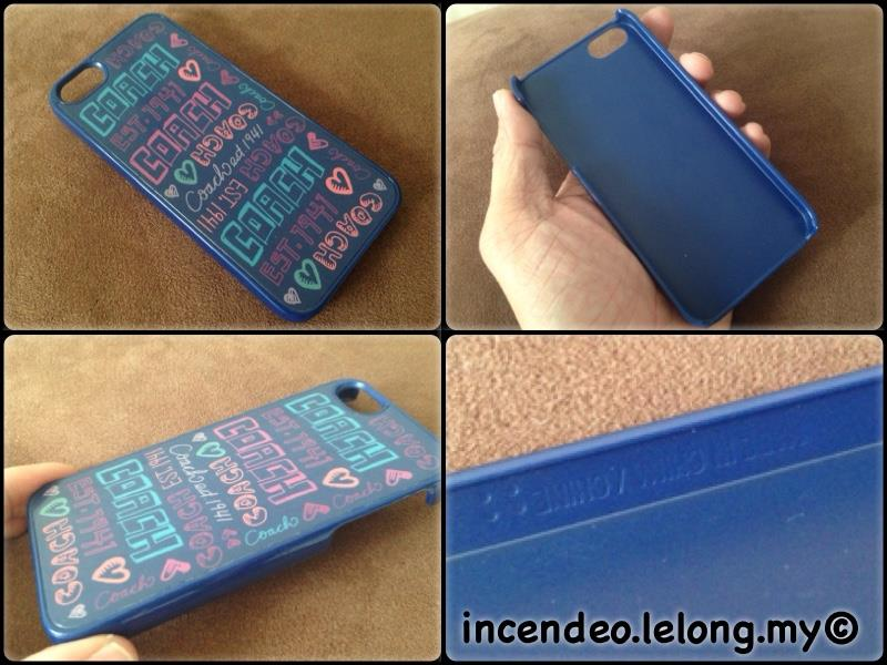 **incendeo** - Authentic COACH iPhone 5/5s Cover