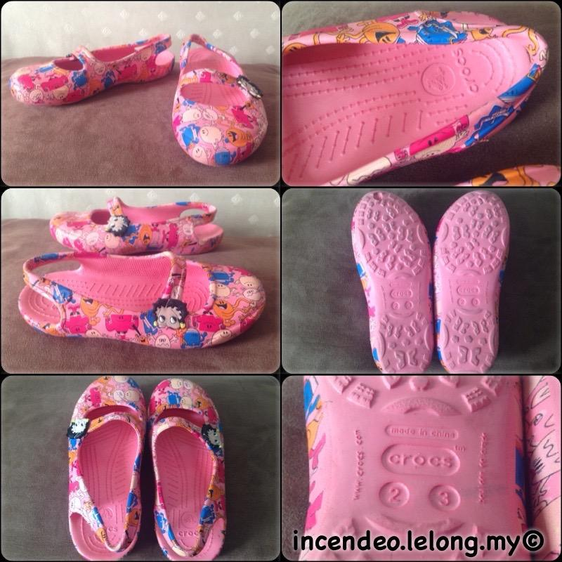 **incendeo** - Authentic CROS Betty Boop Shoe for Girls
