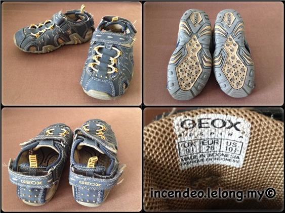 **Incendeo** - Authentic GEOX Espira Shoe for Kids