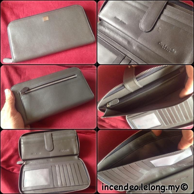 **incendeo** - Authentic GUY LAROCHE Genuine Leather Long Wallet