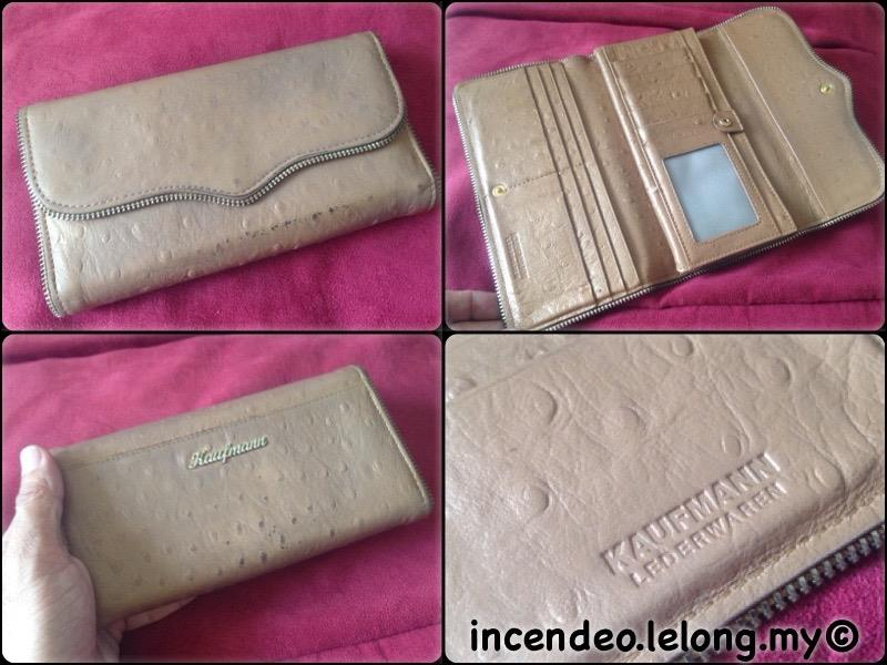 **incendeo** - Authentic KAUFMANN Lederwaren Leather Long Wallet