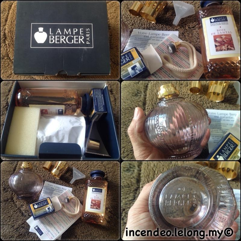 **incendeo** - Authentic LAMPE BERGER Paris Gift Pack #3729
